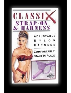 CLASSIX STRA ON HARNESS PURPLE